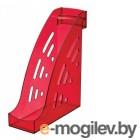 Лоток вертикальный Стамм ЛТ407 Торнадо 255x95x300мм темно-красный тонированный пластик
