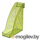 Лоток вертикальный Стамм ЛТ406 Торнадо 255x95x300мм зеленый тонированный пластик