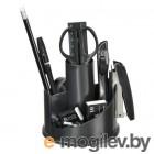 Настольный набор Silwerhof (11 предметов) пластик черный