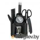 Настольный набор Silwerhof (9 предметов) пластик черный