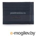 Чехол для кредитных карт Piquadro Tokyo PP2762S107/BLU синий натур.кожа