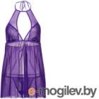 Костюм эротический Candy Girl Angelika One Size / 840065 (фиолетовый)