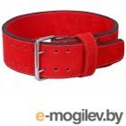 Скакалки, пояса, диски, степы и другие аксессуары Пояс Harper Gym JE 2633-R Leather M Red 361327