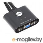 переключатель KVM ATEN USB+VGA => 2 cpu USB+VGA CS22U-A7|