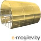 Беседка КомфортПром Пион 3м с покрытием (жёлтый)