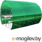 Беседка КомфортПром Пион 3м с покрытием (зелёный)
