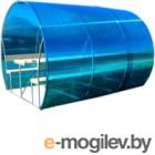 Беседка КомфортПром Пион 3м с покрытием (синий)