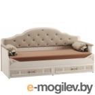 Кровать-тахта Mobi Флоренция 11.07 (ясень анкор MX 1879/Dublin Mosoon/Лайт 10)