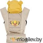 Эрго-рюкзак Polini Kids Disney Baby Король Лев с вышивкой (бежевый)
