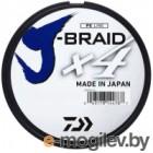 Леска плетеная Daiwa J-Braid X4E 0.13мм 135м / 12741-013 (темно-зеленый)