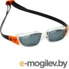 Очки для плавания Phelps Tiburon / EP2860008LD (прозрачный/оранжевый)