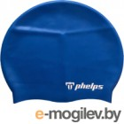 Шапочка для плавания Phelps Classic Silicone SA131EU4040 (синий)