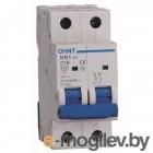 Выключатель автоматический Chint NB1-63 2P 1A 6kA C (DB) / 179655