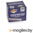 Уход за полостью рта Зубочистки Aviora 500шт 401-486