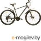 Велосипед PIONEER Hunter 700c (19, серый/черный/синий)