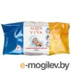 Влажные салфетки Aqua Viva Алоэ (120шт)