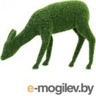 Каркасное топиари Грифонсервис Пасущийся олень ТОП31-1 (зеленый)