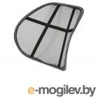 Авточехлы, накидки на сиденья Поддержка поясничная Nova Bright 48x39cm сетчатая Black 47105