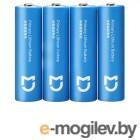 батарейки AA - Xiaomi Mijia Super Lithium Battery 2900mAh Light Blue (4 штуки)