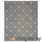 ЛЕН, Ковер, точечный, серый, 133x160 см