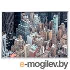 БЬЁРКСТА, Картина с рамой, Нью-Йорк с высоты, цвет алюминия, 200x140 см