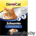 Витамины для животных GimCat Сердечки с таурином и лососем / 409382GC (420г)