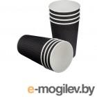 Одноразовые стаканы Huhtamaki 400ml NDW16 Black 25шт