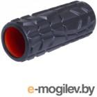 Валик для фитнеса массажный Starfit FA-509 (черный/оранжевый)