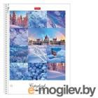 Тетради, дневники, обложки Тетрадь Hatber Краски дня A4 120 листов 120Ттр4В1сп_21072
