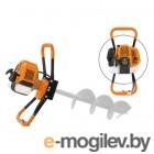 Мотобур Carver AG-43/000 бытовой 2-х такт. 1250Вт 1.7л.с. 43см3 6500об/мин (01.003.00038)