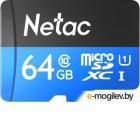 Карта памяти Netac P500 Standard 64GB NT02P500STN-064G-S