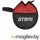 Настольный теннис Чехол для ракетки Atemi ATC100 Black-Red