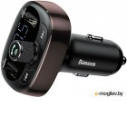 Baseus T Typed Bluetooth MP3 Charger With Car Holder Dark Coffee CCALL-TM12