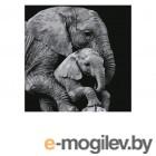 Картина по номерам Котеин Большая забота 30x30cm KHM0045