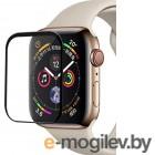 Аксессуары для APPLE Watch Защитное стекло Activ для Apple Watch 44mm Polymer Nano Matt Black 117519
