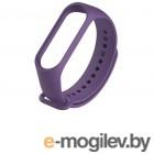 Аксессуары для умных браслетов Ремешок Activ для Xiaomi Mi Band 3 / Mi Band 4 Silicone Purple 103173