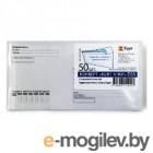 Конверт Бюрократ Е65.15.50 E65 110x220мм Куда-Кому без окна белый силиконовая лента бумага 80г/м2 (pack:50pcs)