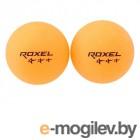 Мяч для настольного тенниса Roxel Prime (оранжевый, 3 звезды, 6 шт.)