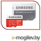 Карта памяти Samsung Evo Plus microSD 512GB (MB-MC512HA/RU)