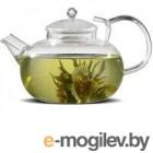 Чайник заварочный стекл. ИВАН-ЧАЙ 600мл (пружина в носике) арт. TP106