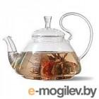 Чайник заварочный стекл. ДИКАЯ ВИШНЯ 800мл (пружина в носике) арт. TP123