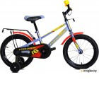 Велосипед 14 Forward Meteor 19-20 г::Серо-голубой/Красный/RBKW0LNF1027