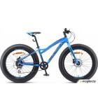 Велосипед Stels Aggressor D 24 V010 Синий (LU092494)::13,5