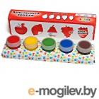 Краски пальчиковые Molly Фрукты 5 цветов x 22ml FP-10
