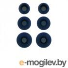 Комплект амбушюр Krutoff 3 пары Размер S/M/L Blue 09698