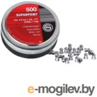 Пульки для пневматики Geco Superpoint (4.5мм, 500шт)