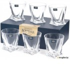 Набор стаканов Bohemia Crystalite Quadro 20936/99A44/340 (6шт)