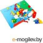 Развивающая игра ЛЭМ Карта Европы / 5013