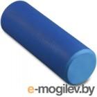 Валик для фитнеса массажный Indigo Foam Roll / IN021 (синий)