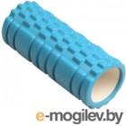 Валик для фитнеса массажный Indigo IN077 (голубой)